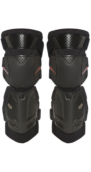 Fox Launch Shorty Knee Pad Miehet alavartalosuojat , musta